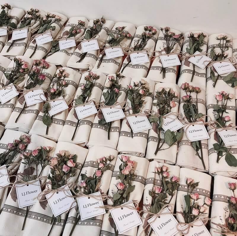 2020 年五大網美級婚禮小物推薦,姐妹、伴娘最愛!